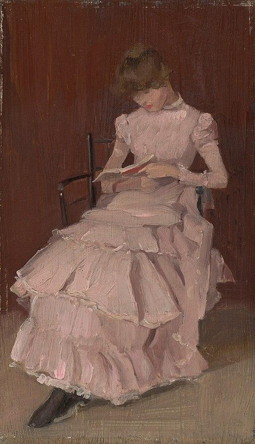 Ca s'est passé en juillet ! 516px-Beatrice_Godwin_Whistler_-_Peach_Blossom_-_1943.11.8_-_National_Gallery_of_Art